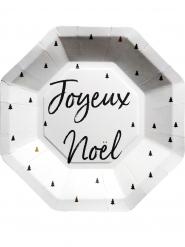 Joyeux Noël- pahvilautaset 23 cm 8 kpl