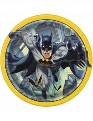 8 Batman™ pahvilautasta 23 cm