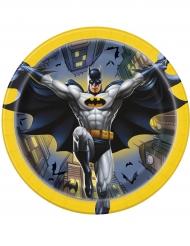 8 Batman™ pahvilautasta 18 cm