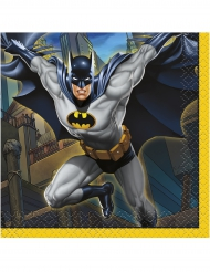 16 Batman™ servettiä 25 x 25 cm