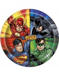 Justice League™ -paperilautaset 23 cm