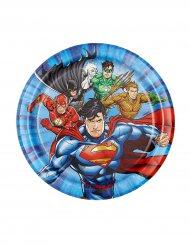 Justice League™ -paperilautaset 18 cm