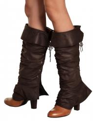 Keskiaikaiset kengänpäälliset naiselle