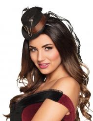 Steampunktyylinen hattu naiselle