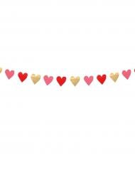 Banneri sydämillä 2 m
