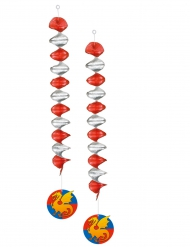 Ritaririippukoristeet 60 cm 2 kpl