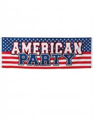 American party- banneri 220 x 74 cm