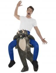 Carry Me Dinosaurus-naamiaisasu aikuisille