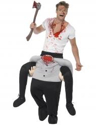 Päättömän miehen kyydissä - Halloween carry me -asu