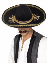 Ylellinen musta sombrero