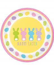 Happy Easter -pahvilautaset 8 kpl