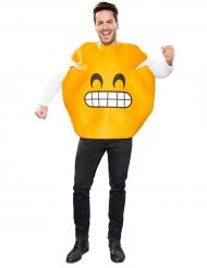 Virnistävä emoji -naamiaisasu aikuisille