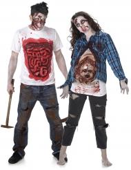 Pelottava zombiepari - Halloween pariasu aikuisille