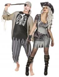 Zombimerirosvot - Halloween asu aikuisille