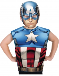 Kapteeni Amerikka™ -naamiaisasu lapsille
