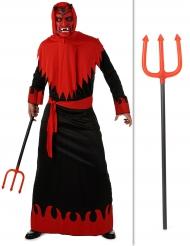 Paholaisen naamiaisasusetti sekä atrain halloween