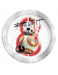 Star Wars VIII -paperilautaset 8 kpl