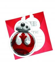 Star Wars VIII -kutsukortit  6 kpl