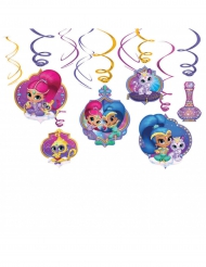 Shimmer and Shine™ -koristeet 6 kpl