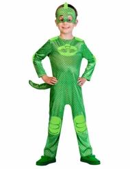 Pyjamasankarit™ Gekko -naamiaisasu lapselle