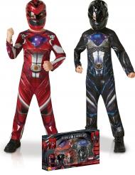 Power Rangers™-naamiaisasusetti lapsille lahjapakkauksessa