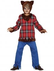Ihmissuden halloween-naamiaisasu aikuiselle
