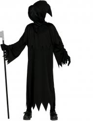 Pimeyden viikatemiehen naamiaisasu lapselle halloween