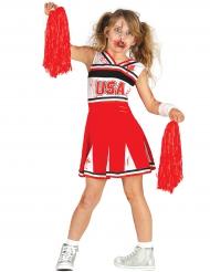 Zombi Cheerleader -naamiaisasu lapselle