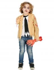 Kädettömön zombin naamiaisasu lapselle