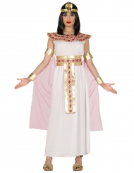 Egyptiläisen vaaleanpunakultainen naamiaisasu naiselle