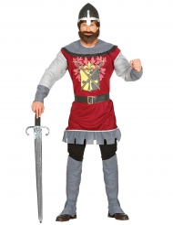 Keskiaikaisen ritariprinssin naamiaisasu aikuiselle