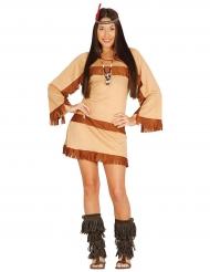 Grand canyonin intiaanin naamiaisasu naiselle