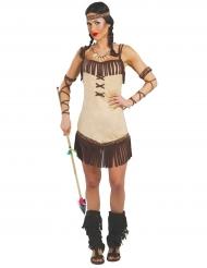 Miwok- intiaanin naamiaisasu naiselle