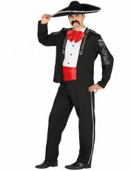 Meksikolaisen herrasmiehen naamiaisasu miehelle