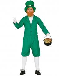 Vihreä menninkäinen -naamiaisasu aikuisille