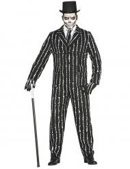 Mr. Skeleton- naamiaisasu miehelle