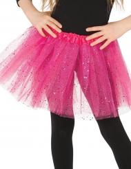 Pinkki paljettitutu tytölle