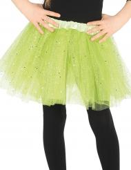 Vihreä paljettitutu tytölle