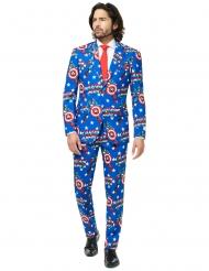 Mr. Captain America™ Opposuits-puku miehelle