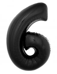 Musta alumiinipallo luku 6 100cm
