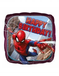 Spiderman™ Happy Birthday -alumiinipallo 43 cm