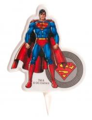 Superman™ -kakkukynttilä 7,5cm