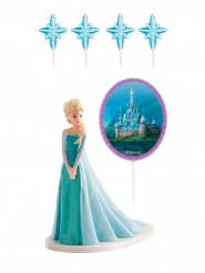 Frozen™ Elsa -kakkukoristesetti