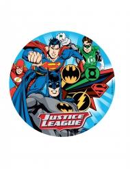 Justice League™ Yllätys! -kakkukuva 20cm
