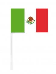 Meksikon lippu 14 x 21 cm
