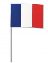 Paperinen ranskan lippu 14 x 21 cm