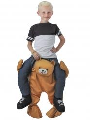 Karhun selässä -naamiaisasu lapselle