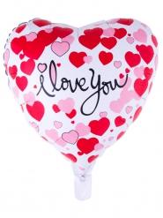 I love you- sydämenmuotoinen ilmapallo 52 x 46 cm