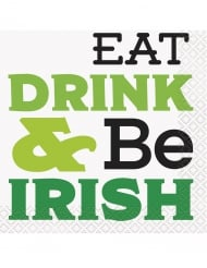 Eat, Drink & Be Irish -lautasliinat 16 kpl
