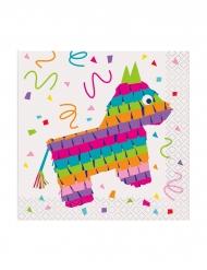16 Pientä piñata-servettiä
